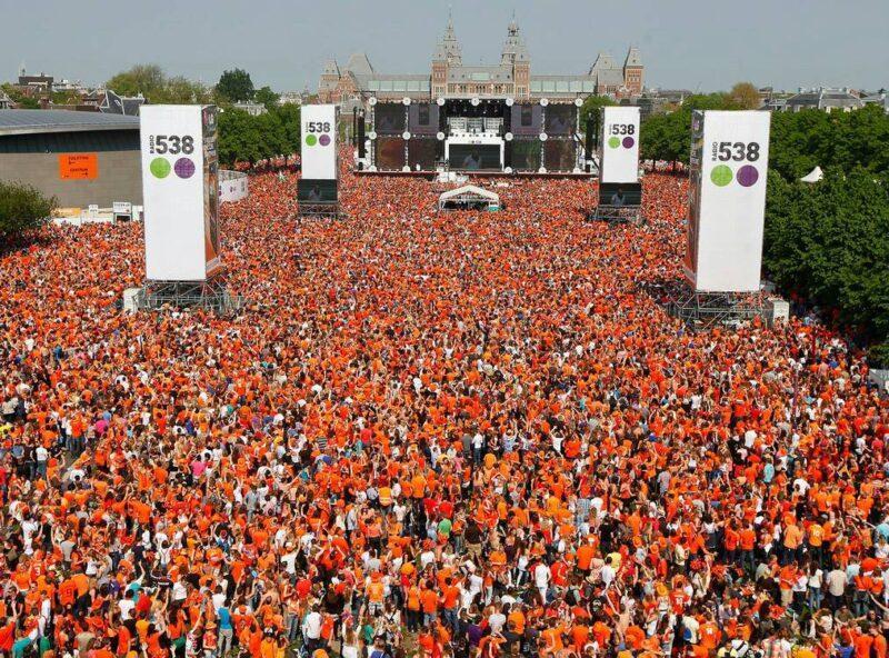 День короля в Нидерландах