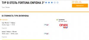 Горящие туры в Тунис на 6 ночей от 11 200 руб./чел. из Москвы.