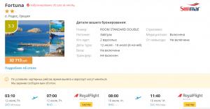 Горящие туры в Грецию на 6 ночей от 14 400 руб./чел. из Москвы.