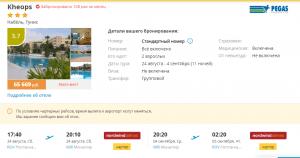 Горящие туры в Тунис на 11 ночей от 26 300 руб./чел. из Ростова-на-Дону.