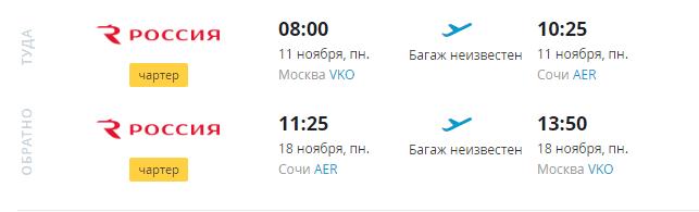 Из Москвы в Сочи туром от 7900 с человека за 7 ночей