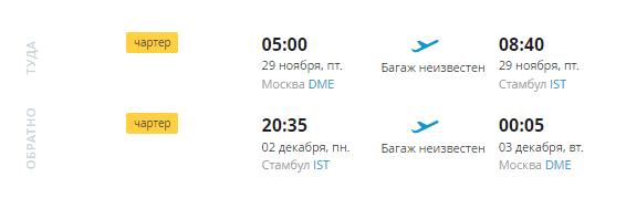 В Стамбул на три ночи туром из Москвы за 10 370 р с человека