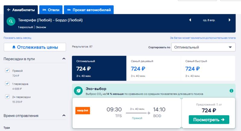 Новогодняя распродажа от Easyjet: полеты по Европе всего от 550 рублей