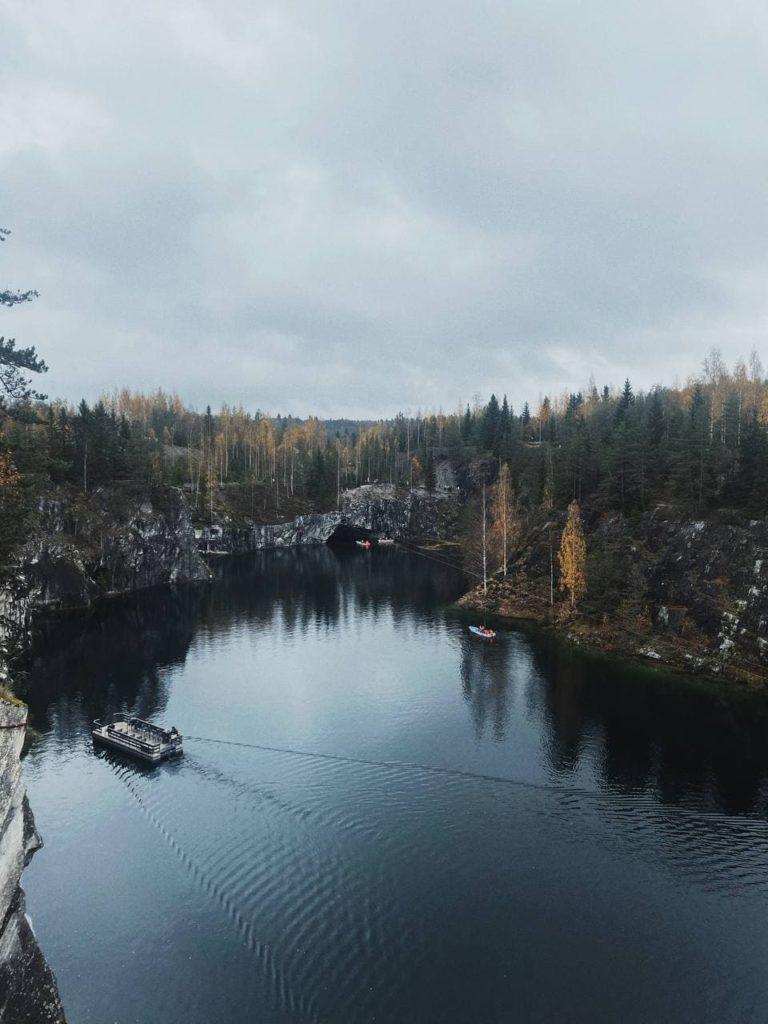 Горный парк Рускеала: график работы, достопримечательности и развлечения