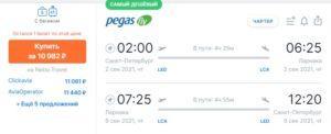 Билеты на Кипр и в Турцию за 10000руб. туда-обратно, есть Египет